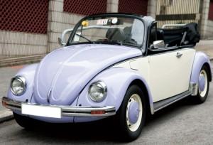 懷舊款甲蟲車(開篷 紫色) 3小時 $2380 OT $550/小時
