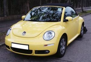 甲蟲車(開篷 黃色) 4小時 $2380 OT $500/小時